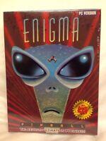 Vintage Enigma Pinball PC Game Brand New Sealed 3.5 Disk IBM Tandy RARE