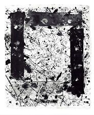 Sam Francis WINDOW II Monotype Gravure by Foundation Maeght 1983