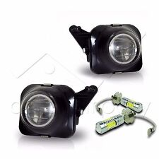 00-05 Celica Replacment Projector Fog Lights w/ High Power COB LED Bulbs - Clear