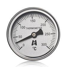 Termometro Bimetallico 300°C Cucina in acciaio inossidabile Forno BBQ