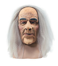 BM248 Halloween Creepy Old Man Mask with Hair costume accessory latex Full Mask