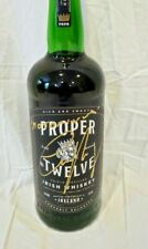 "Conor McGregor Signed Proper Twelve Whiskey 12 ""NOTORIOUS"" Inscription UFC PROOF"