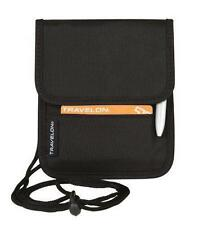 Travelon Folding ID and Boarding Pass Holder with Snap Closure Hands Free Black