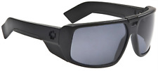 NEW Spy Touring Sunglasses-Matte Black-Grey Polarized Lens-SAME DAY SHIPPING!