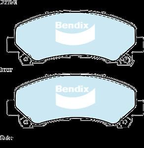 Brake Disc Pad Set Front Bendix DB1841 HD For CHEVROLET COLORADO HOLDEN COLORADO