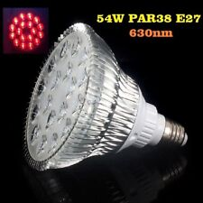 54W LED Bühnenlicht Pflanzenlicht Grow Light Rot 630nm Spektrum E27 Spectrum