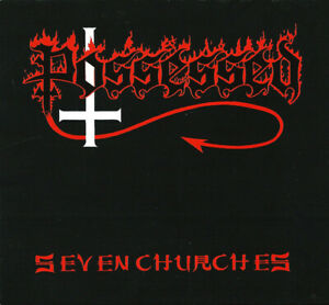 Possessed - Seven Churches CD SEALED NEW IMPORT Black Thrash Death Metal CLASSIC