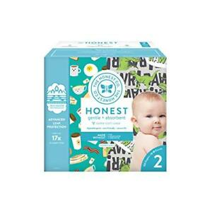 The Honest Company Super Club Box Diapers with TrueAbsorb Size 2 152 Count