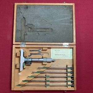 Mitutoyo Depth Micrometer Calliper Gauge