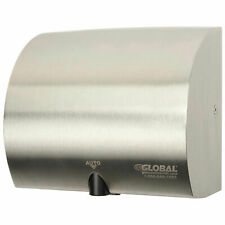 High Velocity Automatic Wall Hand Dryer, Stainless Steel, 120V