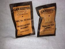 Needle and seat for Studebaker and other/Carter.  680279.  Item:  2260