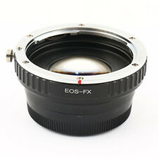 0.72x Focal Reducer Speed Booster Canon EOS EF lens to Fujifilm FX PRO Adapter