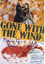 GWTW: Photo Autographed by 3: McQueen, Rutherford, Cammie King