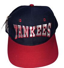 New York Yankees American League Genuine Merchandise SnapBack hat MLB Vintage