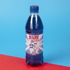 Official Slush Puppie Frozen Blue Raspberry Syrup 500ml for Ice Slushie Drink