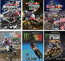 FIM MX OF NATIONS SEASON REVIEWS 2008, '09, '10, '11, '12 and 2013 - 6 DVD PACK