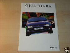 10875) Opel Tigra españa folleto 1995