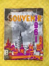 Pensionnat Saint Joseph Toulouse - 1960/1961 - livre souvenir