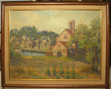 Blanche Colman (1874-1959) Early Rockport Painting Noted Cape Ann School Artist