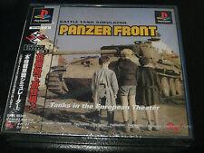 PANZER FRONT :Battle Tank Simulator (Sony PlayStation 1, 2001) JAPANESE IMPORT