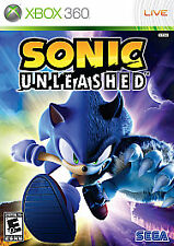 Sonic Unleashed (Microsoft Xbox 360, 2008) Platinum Hits  COMPLETE FAST SHIPPING