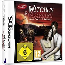 NINTENDO DS DSi WITCHES vampiros fantasma Piratas of Ashburry Juego de rol 2