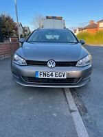 VOLKSWAGEN GOLF 1.6 TDI BLUEMOTION 5DR MANUAL ESTATE GREY 2014 Spares or Repair