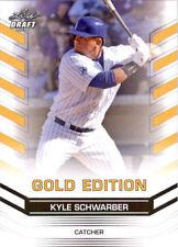 2015 LEAF DRAFT GOLD EDITION #29 CHICAGO CUBS KYLE SCHWARBER RC NM-MT