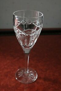 """1 Waterford Crystal """"Dolmen"""" Red Wine/Claret Glass Immaculate 8.1/4"""" tall"""