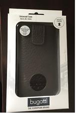 Bugatti Genuine Brown Leather XL Universal Case for Samsung, iPhone 6 - New