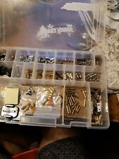 R/C. box of spare parts from screws washers battery connectors props all kinds