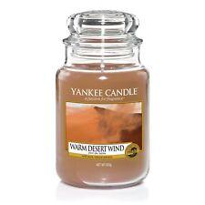 YANKEE CANDLE Große Kerze WARM DESERT WIND 623 g Duftkerze