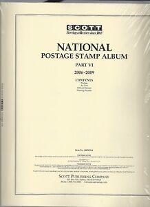 Scott National US Page Set Part VI 2006-2009 100NTL6