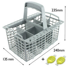 UNIVERSAL Dishwasher Cutlery Basket Cage 8 Compartment + 2 Freshener Capsules