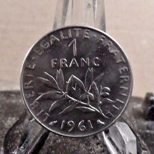 CIRCULATED 1961 1 FRANC FRENCH COIN (11817)1