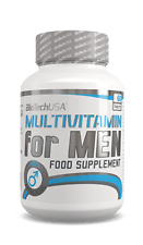 BioTech USA Multivitamin for Men 60 Tablets FREE WORLDWIDE SHIPPING