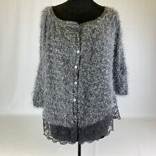 Christina Marcello Designs Ladies Grey jacket Cardigan Size M