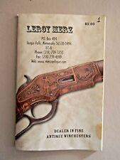Leroy Merz Fine Antique Winchester Catalog No 108- Mn