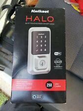 *NEW* Kwikset HALO Electronic Smart Lock Deadbolt, Satin Nickel, 939WIFITSCR15SM
