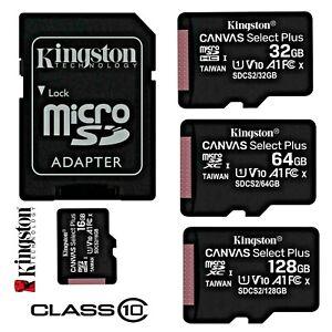 Genuine Kingston Micro SD Card Memory SDHC Class 10, 8GB 16GB 32GB Micro SD card