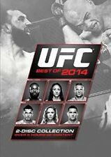 UFC : BEST OF 2014 (2 Disc set) -  DVD - UK Compatible - New & sealed