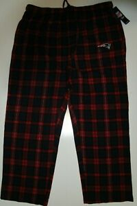 New England Patriots Football Flannel Pajama Pants Lounge Bottoms Men's 2XL NWT
