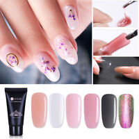 13 Couleur Poly UV Gel de Faux Ongle Construction Extension Nail Camouflage Lot