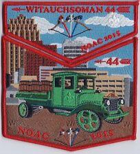 Witauchsoman Lodge 44 OA flap S64/X19 NOAC 2015 Mack Trucks Allentown PA