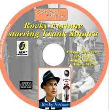 ROCKY FORTUNE,  Frank Sinatra - 25 Private Detective old time radio OTR CD MP3