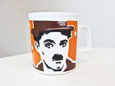 Ceramic Pop Art Charlie Chaplin Mug Cup, Roy Lichtenstein Style, England