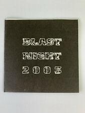 Blast Night 2003 Various Artists CD Japanese Hardcore Grindcore Crust Punk Rare