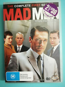 Mad Men Complete First Season 3 disc set RATED M region 4 VGC
