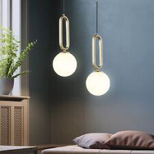 Glass Lamp Kitchen Pendant Light Home Ceiling Lamp Bar Gold Chandelier Lighting