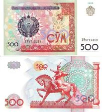 UZBEKISTAN 500 Sum Banknote World Paper Money Currency Pick p81 Asia Bill Note